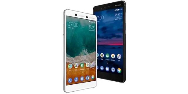Nokia 7 oficial blanco y negro