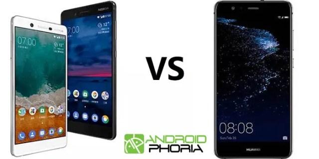 Nokia 7 vs Huawei℗ Mate A1