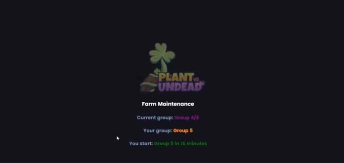 Plant vs Undead doesn't assign you a group? Find out how to fix it