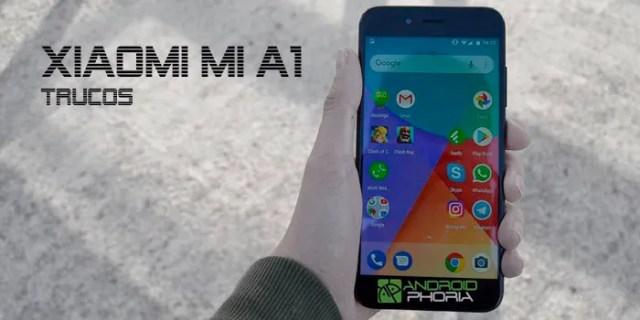 Xiaomi Mi A1 trucos
