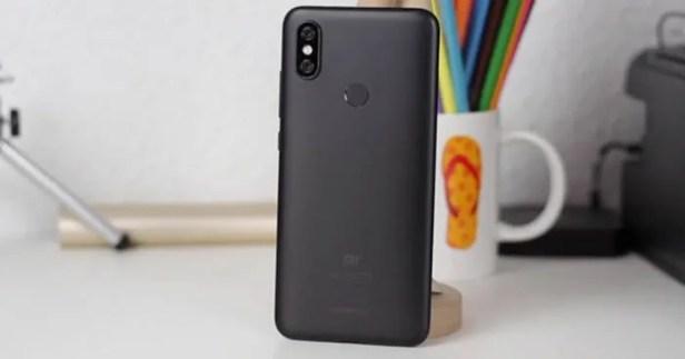 Xiaomi Mi A2 de volta