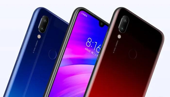 Xiaomi Redmi 7 diseno