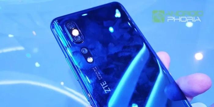ZTE Axon 10 Pro 5G diseño trasero