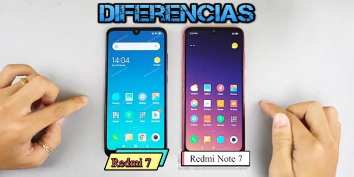 diferencias redmi 7 y redmi note 7