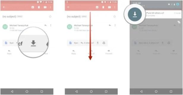 tutorial para exportar contatos do iphone para o android