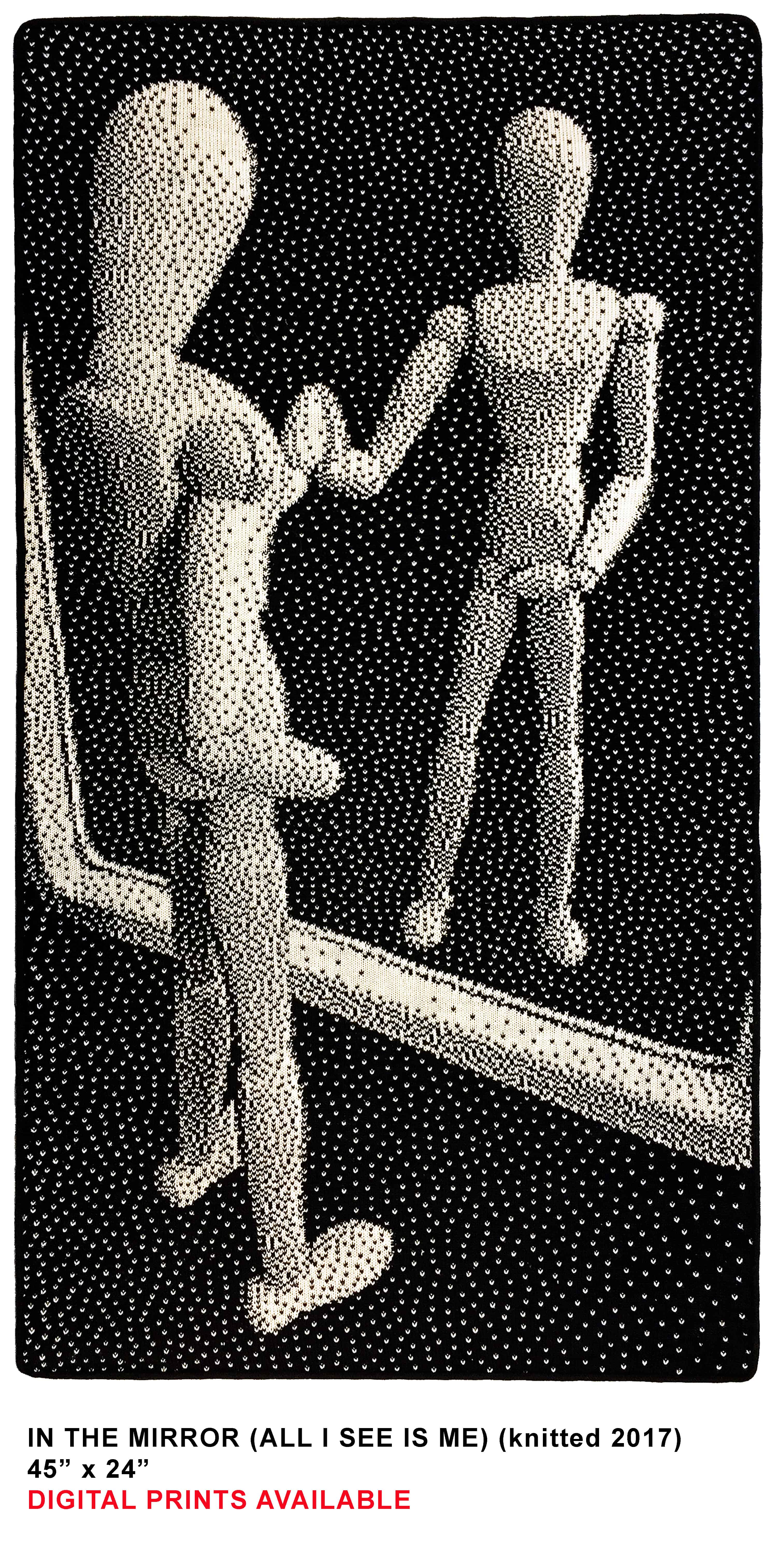 MIRROR knitted template