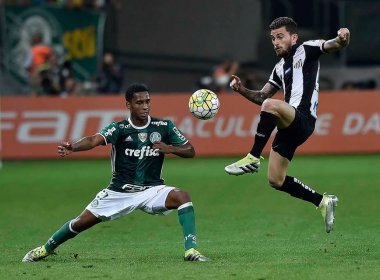 Com recorde de público, Palmeiras e Santos ficam no empate por 1 a 1 no clássico