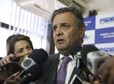 PSDB planeja esconder Aécio Neves na convenção nacional do partido