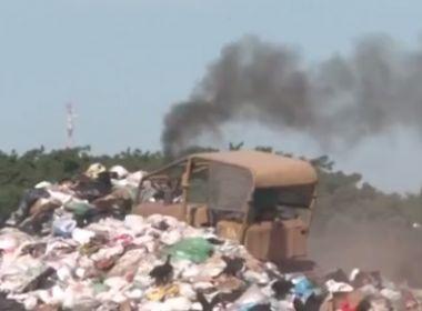 LEM: Moradores reclamam de mau cheiro e fumaça em lixão