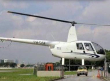 'Papai Noel' rende piloto e rouba helicóptero no interior de São Paulo