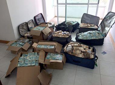PF contabiliza R$ 22,5 mi em 'bunker' de Geddel, maior valor apreendido pela corporação