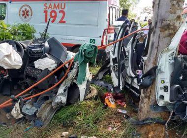 Colisão de caminhonete, carreta e ônibus deixa 12 mortos em MG; coletiva ia para Guanambi