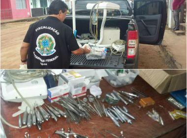 Dois homens são autuados por exercício ilegal da odontologia no Centro-Sul da Bahia