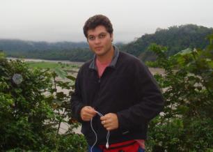 O repórter Joel Datena