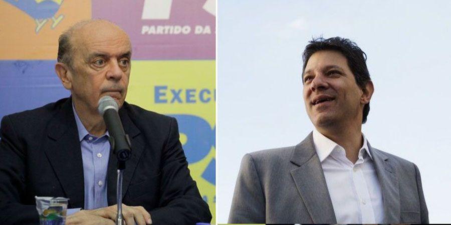 Serra e Haddad terão as campanhas mais caras / Folhapress