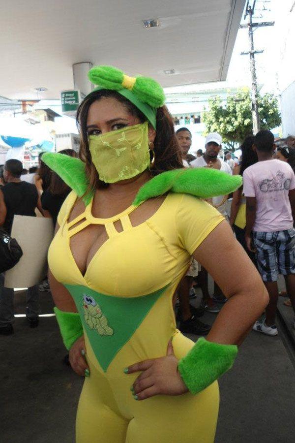 Mulher Perereca é candidata pelo PRTB em Salvador / Reprodução/Facebook
