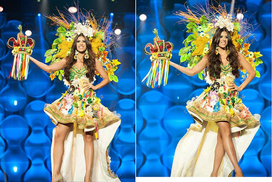 Miss Rio Grande do Norte, Deise Benício, celebra a cultura potiguar com referências da arte e folclore de São Gonçalo