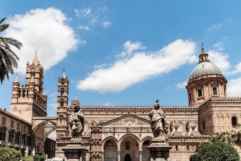 Catedral de Palermo é um dos monumentos históricos da cidade /