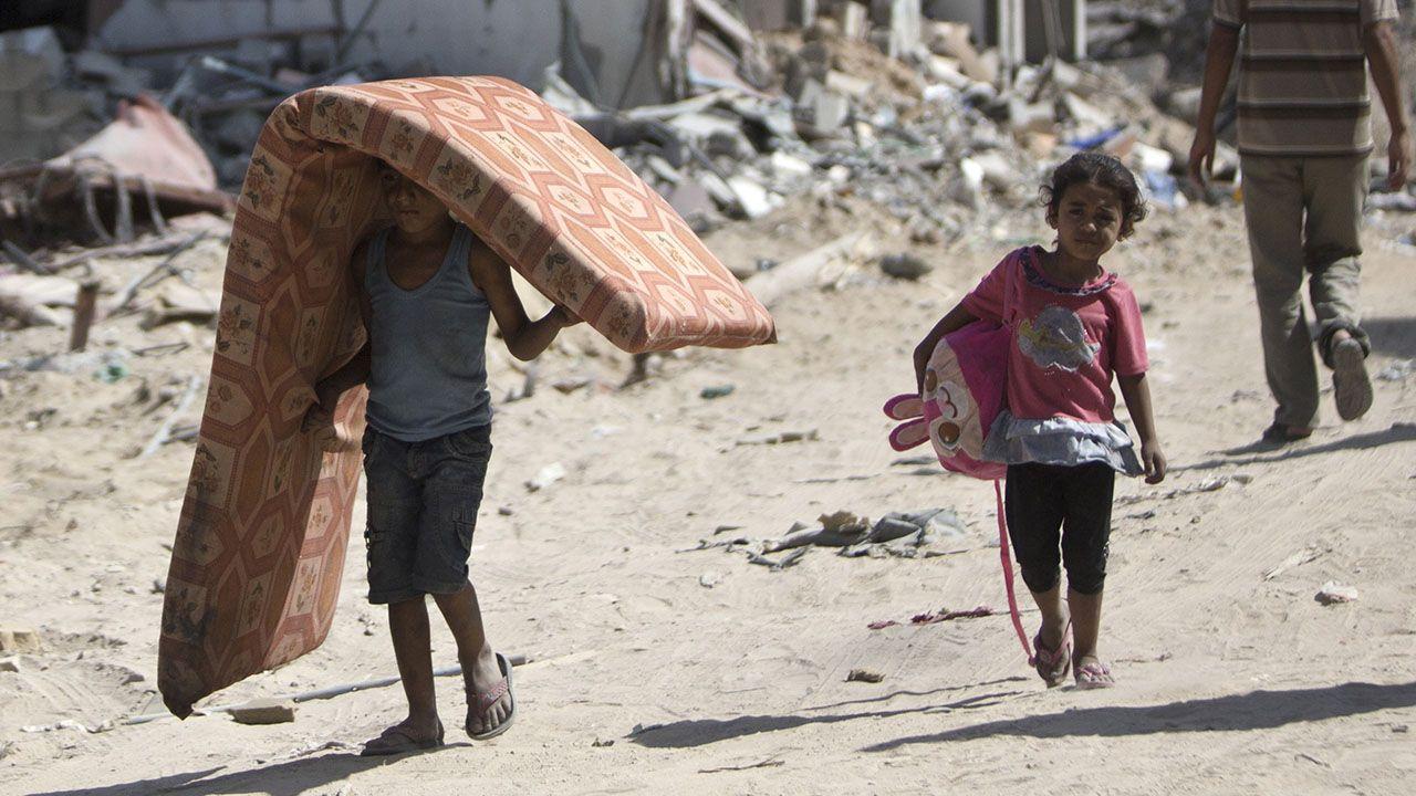 As crianças são uma das principais vítimas do conflito em Gaza / Mahmud Hams/AFP