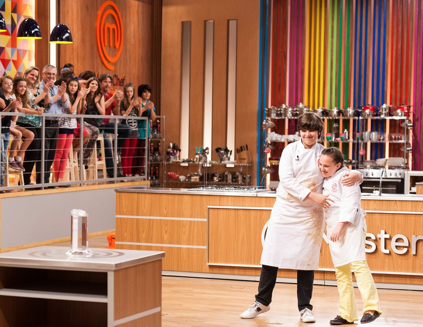 De olho no troféu, Lívia e Lorenzo disputam a final do MasterChef Júnior  / Divulgação - Band