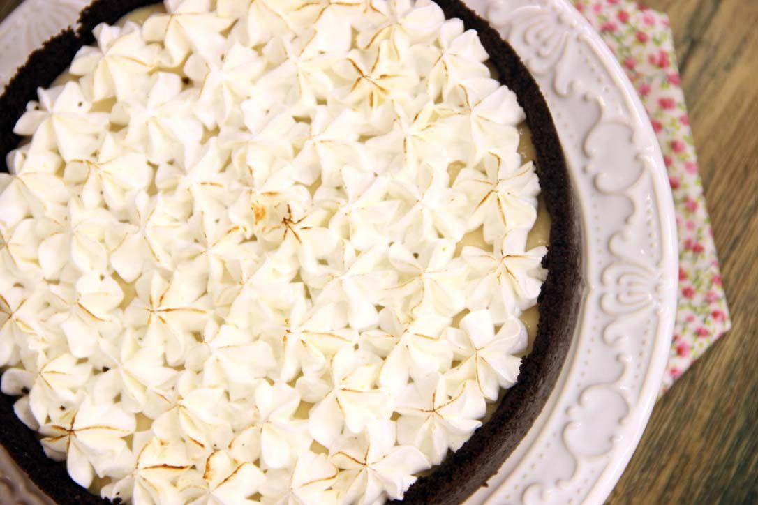Torta de Limão com Massa de Biscoito / Divulgação / Band