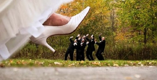 Foto engraçada de casamento | bestbride101.com