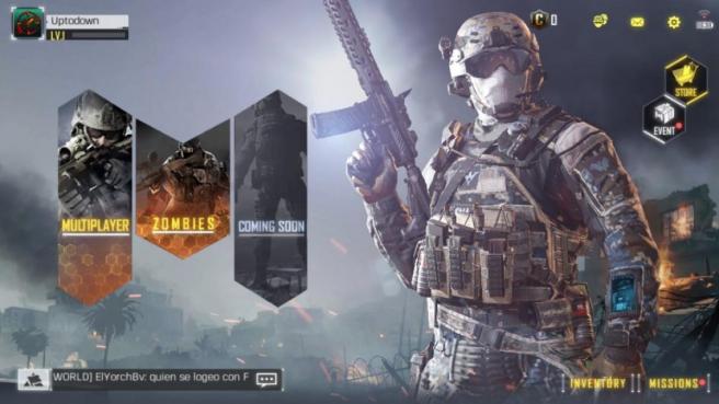 Captura de la versión de 'Call of Duty' para móviles.