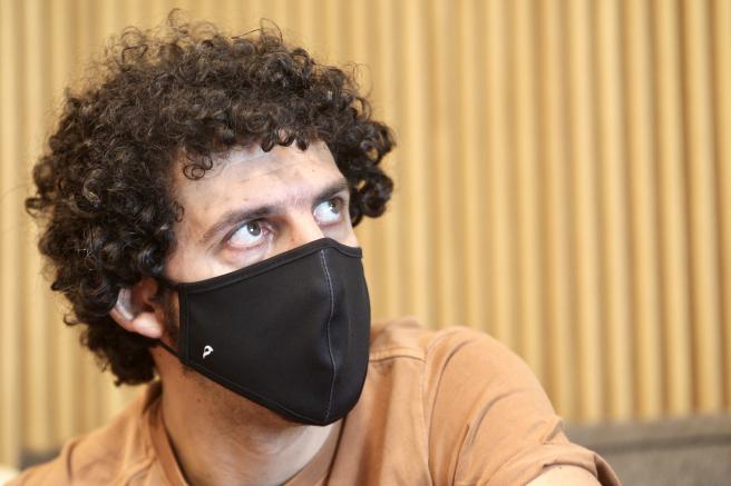 Marwán, durante la entrevista con '20minutos'.