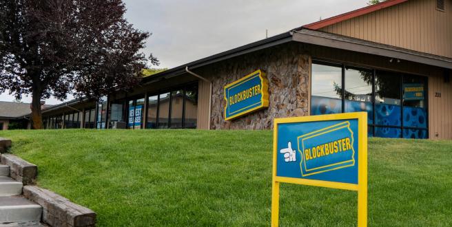 Solo una tienda Blockbuster sobrevive actualmente, en Bend, Oregon (EEUU).