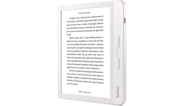 Libro electrónico E-Reader Kobo Libra H20 Blanco.