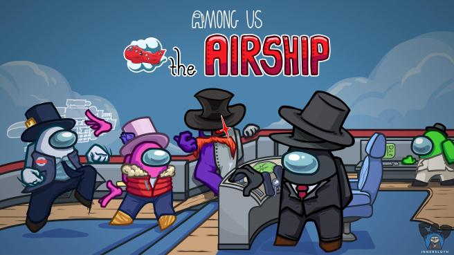 El nuevo mapa de Among Us, 'The Airship'.
