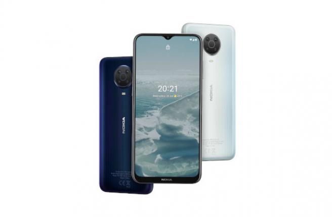 Frontal y colores del Nokia G20