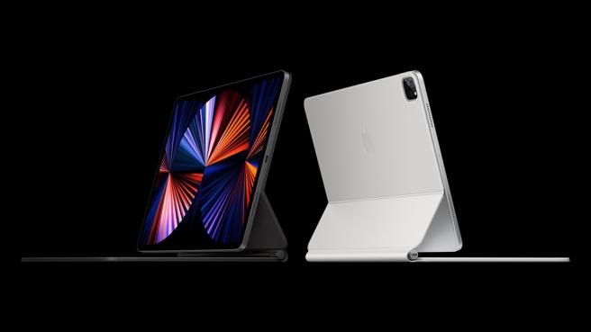 El nuevo iPad Pro tiene pantalla Liquid Retina XDR de 12,9 pulgadas.