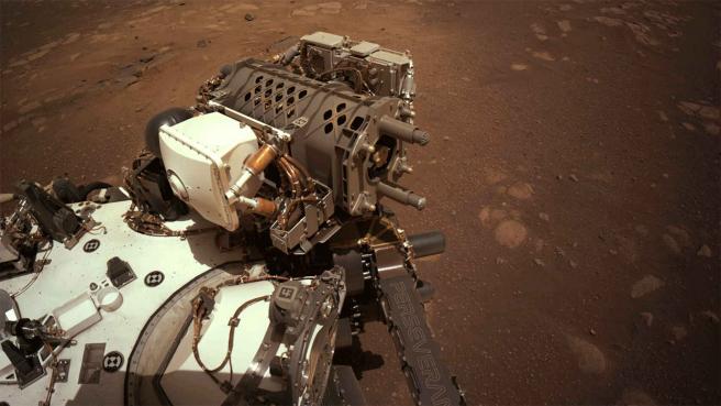 Primera imagen tomada por la NASA.