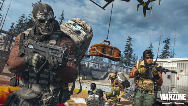 Imagen promocional del videojuego Call Of Duty Warzone.