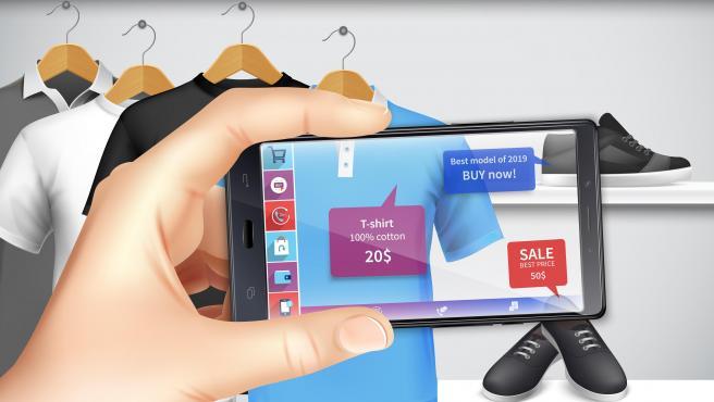 Los teléfonos actuales incorporan chips capaces de acelerar aplicaciones de realidad aumentada, lo que puede cambiar las experiencias de compra.