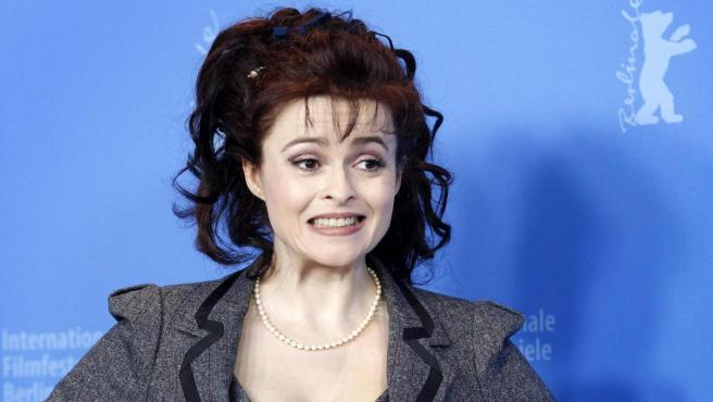 Helena Bonham Carter, on the red carpet at the Berlinale.