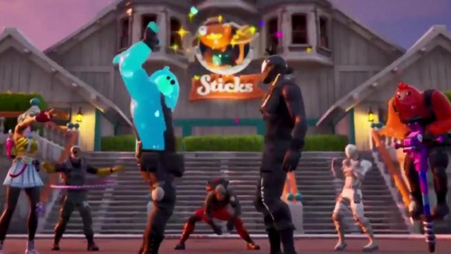 Una captura del trailer de 'Fornite Capítulo 2' que se ha filtrado.