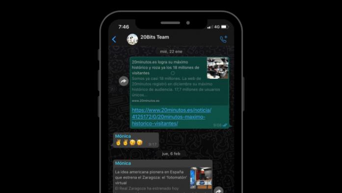 Cómo activar el modo oscuro de WhatsApp en Android y iOS: trucos y ...
