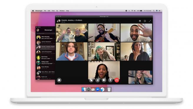 Con la nueva aplicación para macOS y Windows puedes hacer videollamadas grupales.