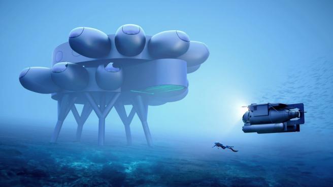 Proteus dice ser la estación de investigación científica subacuática más avanzada del mundo.