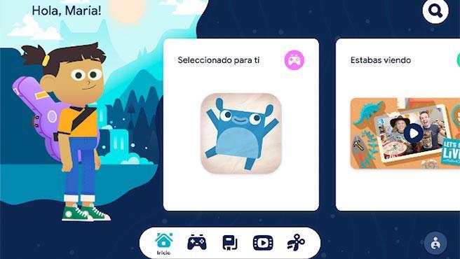 Los niños podrán personalizar su experiencia y crear su propio avatar