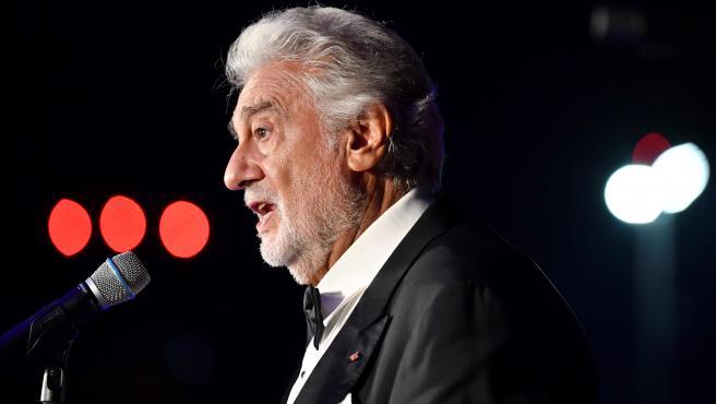 Imagen de archivo de Plácido Domingo.