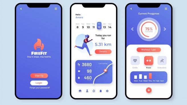La crisis sanitaria ha disparado el uso de apps de fitness.