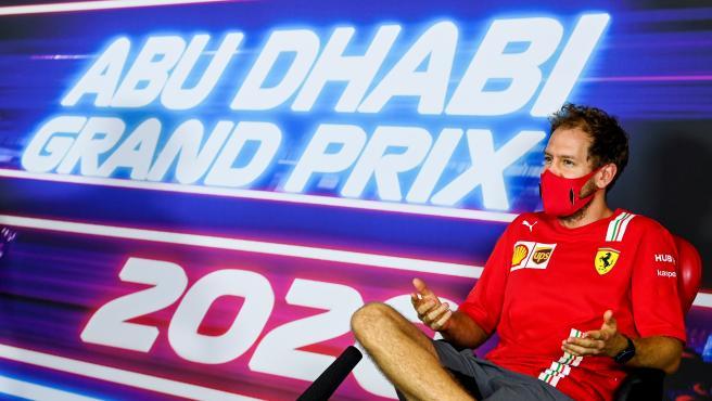 Sebastian Vettel, at the press conference prior to the Abu Dhabi GP