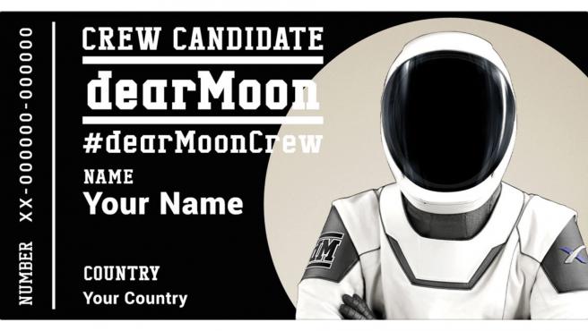 La misión dearMoon tendrá lugar en 2023 y llevará turistas alrededor de la Luna.