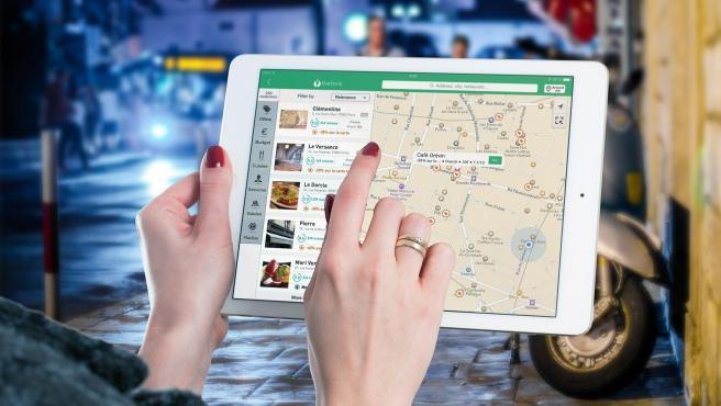 Las aplicaciones para ver restaurantes son muy útiles para pedir a domicilio.