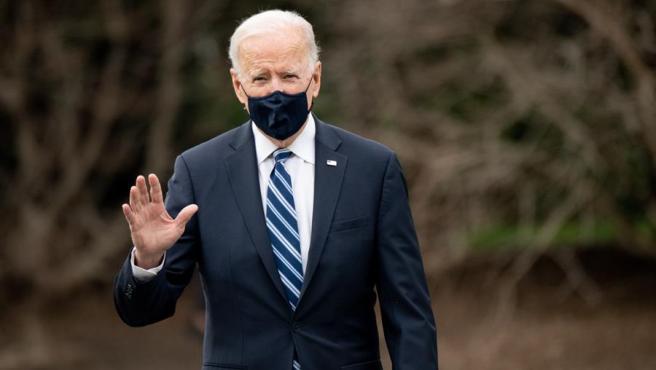El presidente de EE UU, Joe Biden, en la Casa Blanca.