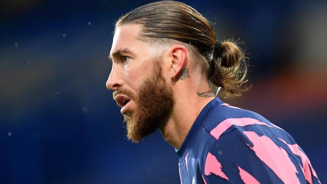 El Real Madrid no cuenta con Sergio Ramos en la presentación de la camiseta  del equipo para la temporada 2021-22