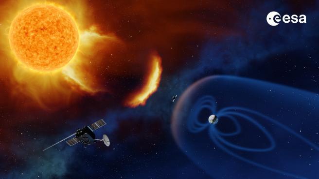 La ESA mandará una nave espacial a un punto entre el Sol y la Tierra.